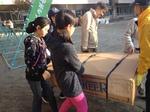 昨年度 避難所訓練 花園小学校地域 11月15日(2014) Refuge training Hanazono