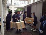昨年度 避難所訓練 四谷中学校地域 9月7日(2014) Refuge training Yotsuya ju