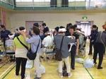 避難所防災訓練 四谷中学校地域