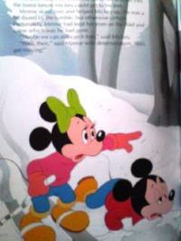 英語絵本 Disney / MICKEY MOUSE in The Viking's eye -1/2
