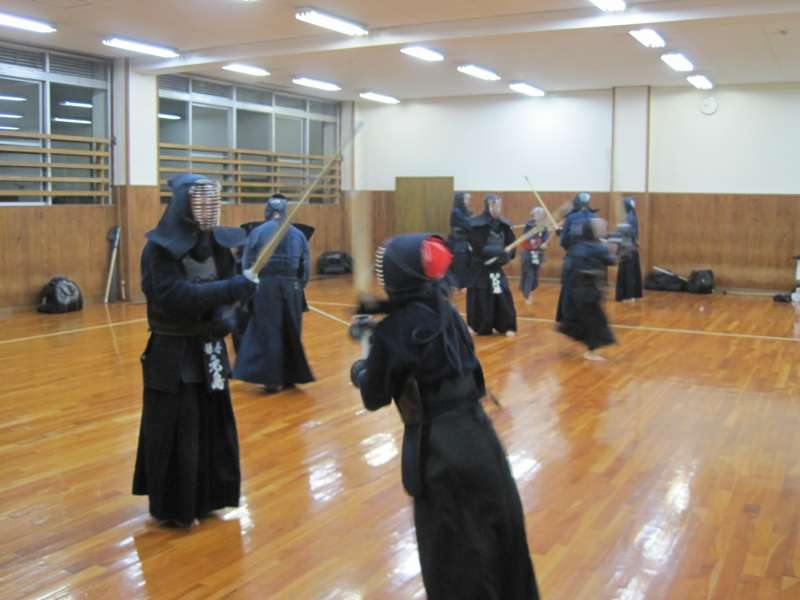 鎌倉市剣道協会 稽古風景