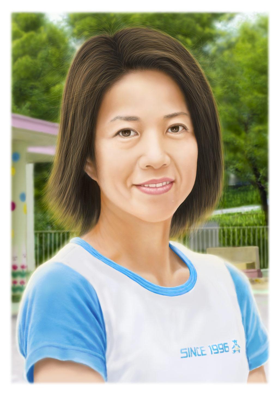 温もりの肖像画     作品紹介