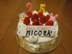 ☆nicoさん誕生日☆